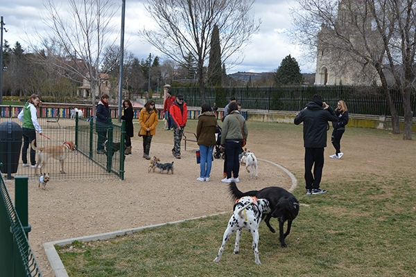 Los parques caninos están funcionando bien