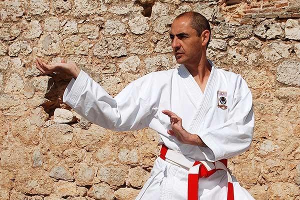 Salvador Herraiz, alma mater del Karate en Guadalajara.