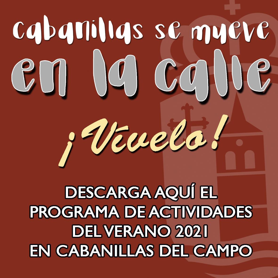 Programa Actividades cabanillas verano 2021