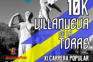 El domingo 16 se celebrará XI Carrera Popular de Villanueva de la Torre