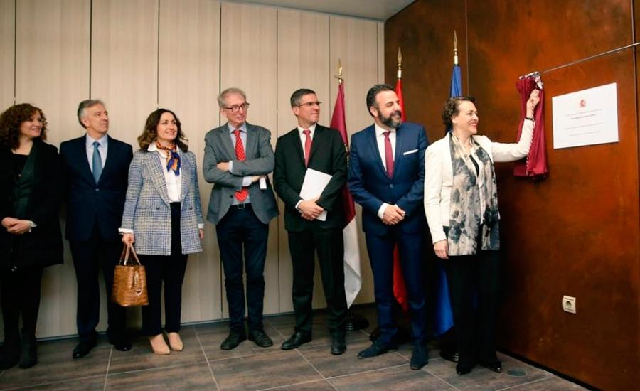 Guadaque La Ministra Magdalena Valerio Inaugura La Oficina
