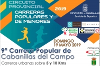 El domingo 19 se celebrará la IX Carrera Popular de Cabanillas
